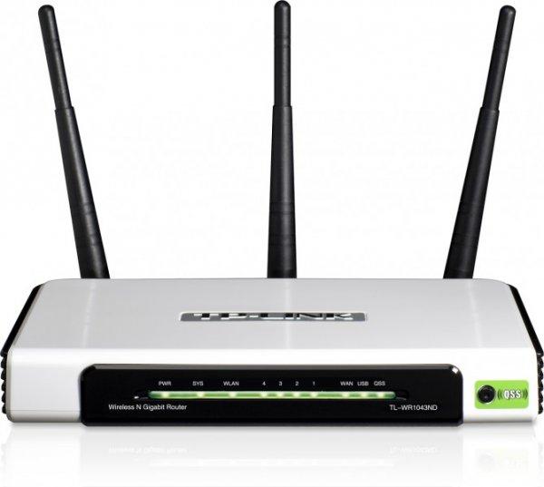 TP-Link TL-WR1043ND 300Mbit/s Ultimate WLAN Gigabit Router für 33€ frei Haus @DC