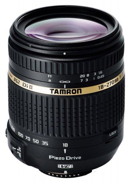 Tamron 18-270mm F/3,5-6,3 Di II VC PZD für Nikon ca. 285.- €