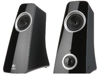 2.0-PC-Lautsprechersystem Logitech Z-320 mit Subwoofer  24,99€