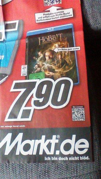 [MediaMarkt bundesweit] Blu-Ray - Der Hobbit - beide Teile je 7,90€