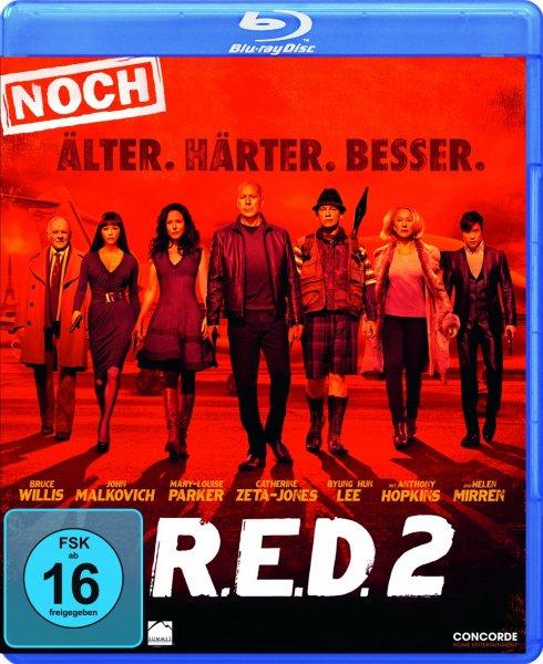 [CeDe.de] R.E.D. 2 - Noch Älter. Härter. Besser. [Blu-ray] für 11,49€