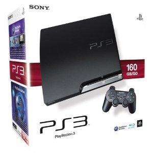 PlayStation 3 Konsole slim mit DualShock 3 Wireless Controller