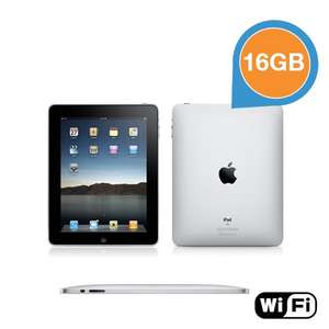 Apple iPad 1 16GB WiFi - Refurbished by Apple - 119,95 + 5,95 VSK