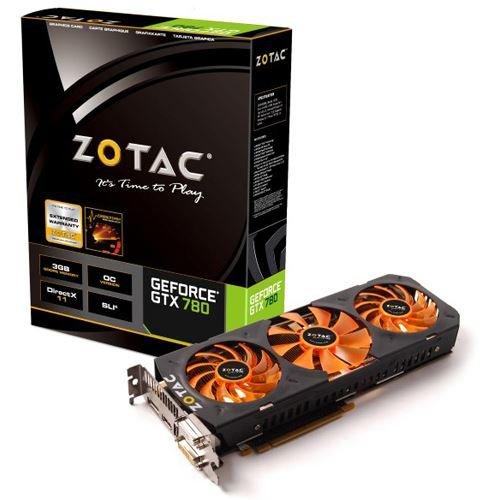 Grafikkarte Zotac Geforce GTX 780 OC 3072MB GDDR5 @Mindfactory für 391,82€