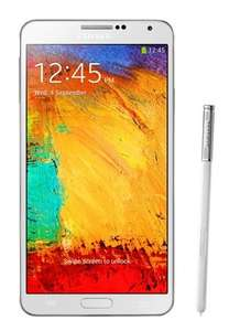 Samsung Galaxy Note 3, N9005, white, 32GB für 360€ @ URANO