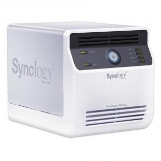 HAMMER! Synology DiskStation DS413j Leergehäuse für 203,99€ inkl. Versand