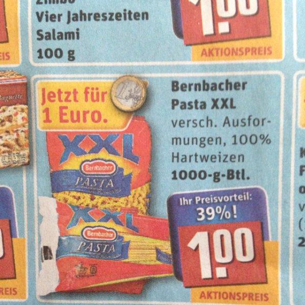 [REWE] Bernbacher Pasta XXL 1000g