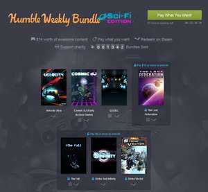 [Steam][Humble Weekly Bundle] Sci-Fi =)