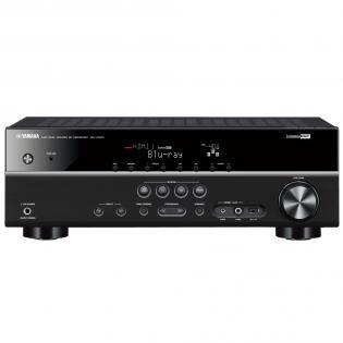 Yamaha RX-V375 AV-Receiver in schwarz (5,1-Kanal, 100 Watt pro Kanal, Dolby TrueHD, HDMI, USB) @redcoon