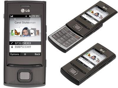 LG GD550 Pure Titan Gray Bluetooth Handy @Ebay -9%