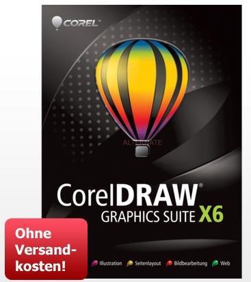 [ZackZack] Vollversion CorelDraw Graphics Suite X6 für 239,90€