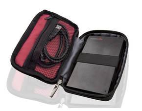 2,5 Zoll Tasche für externe Festplatte + 100 Kabelbinder für 1,95€ OHNE VSK