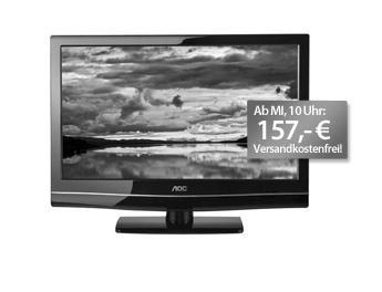 AOC LED TV 24 Zoll (Full HD, 2 x HDMI, DVB-T) für 157 € inkl.Versand
