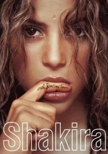 Shakira - Oral Fixation Tour - (Blu-ray) für ca. 5,49 € inkl. Versand