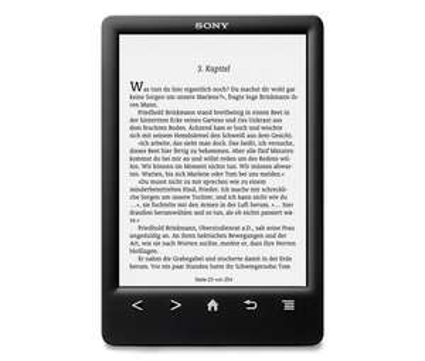 E-Book-Reader SONY PRS-T3S, schwarz