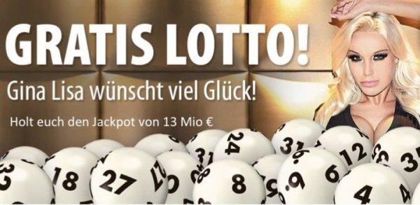 Lotto kostenlos - 2 Felder für Tipp24 Neukunden