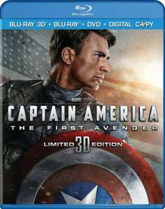 [CeDe.de] Captain America - The First Avenger (Blu-ray 3D) für 16,99€ inkl. VSK