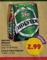 Holsten Pilsener Sixpack (6x 0,5 l) ab 04.08.2014 [Penny]