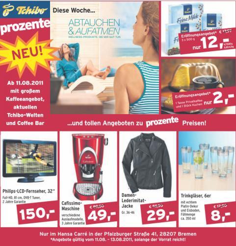 """[Lokal] Tchibo: Philips-LCD-Fernseher, 32"""", Full-HD für 150 €"""