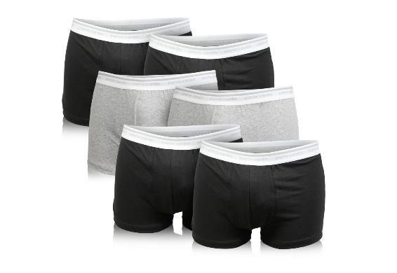 6er Pack Boxershorts versch. Farben von Pierre Cardin für 23,99€ frei Haus @DC