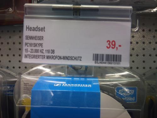 Sennheiser PC 161 für nur 39€ beim Promarkt in Leverkusen