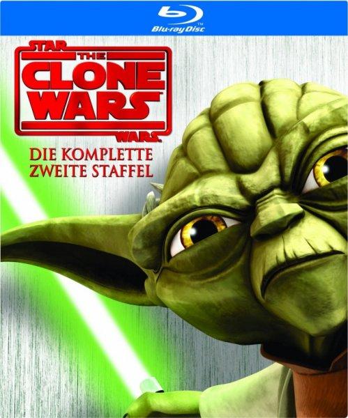 [Amazon Prime] Star Wars: The Clone Wars - Staffel 2 [Blu-ray] für 17,97€
