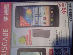 Dualism-Smartphone Acer 5 Zoll!