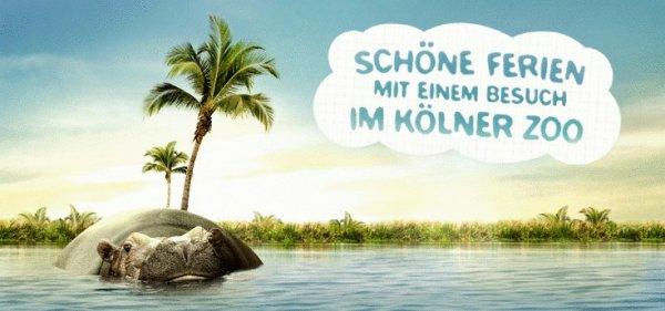 [travelbird.nl] Zoo Köln + Aquarium für 9,45 EUR statt 17,50 EUR