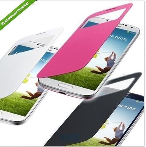 Wieder Da und günstiger: {EBAY} Flip Case mit Sichtfenster für Samsung Galaxy S4 (Original???)