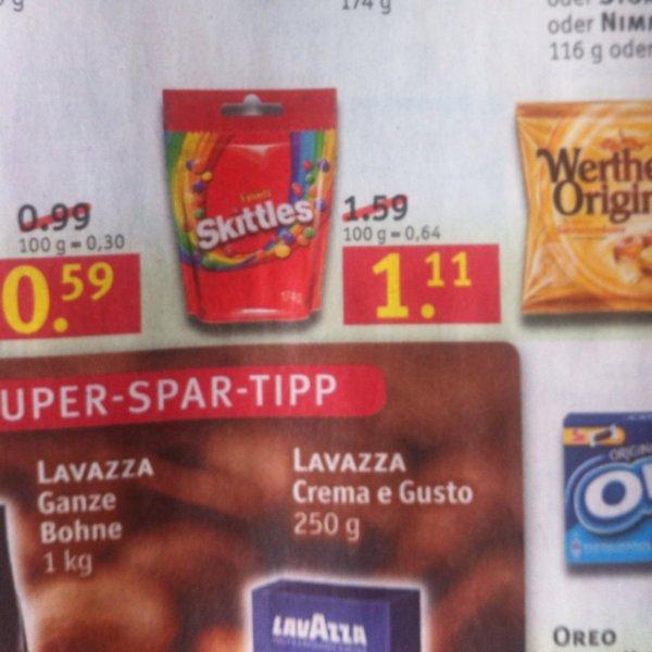 Skittles 174g 1,11€ @Rossmann