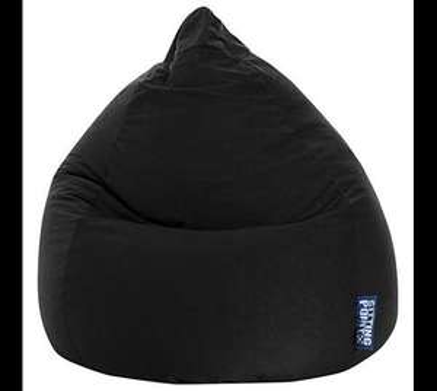 Sitting Point by MAGMA BeanBag Easy XL, 220 Liter indoor Sitzsack schwarz für 34,90€@plus