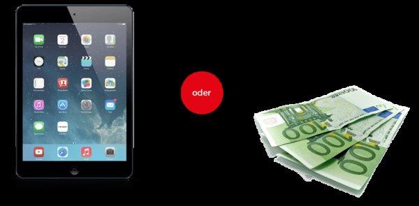 sBroker Wertpapierdepot :: 40 Trades für ein iPad Air 16GB I WiFi oder 300€
