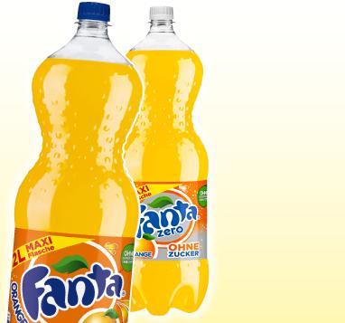 Fanta / Fanta Zero 2L für nur 1,09€ bei Penny (deutschlandweit)
