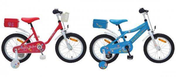 """16"""" Kinderfahrrad """"Pretty Bike"""" oder """"Street Rocker"""" für €67,85 [@Moemax.de]"""