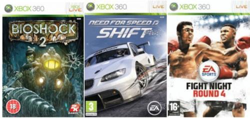 Xbox360 Games für je ca.7,96€ inkl.Versand