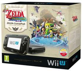 Nin­tendo Wii U The Legend of Zelda: Wind Waker HD Pre­mium Pack für 232,28€ @Amazon.it
