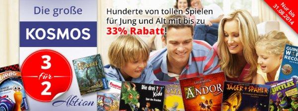 @ Spiele Offensive - Kosmos - Spiele 3 für 2 - 33% Rabatt