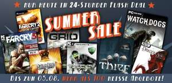 Gamesplanet Summer Sale Tag 7 Mass Effect 1,79€ Origin