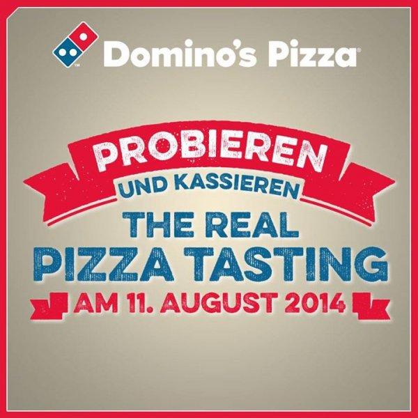 """[Lokal Düsseldorf]: Gratis Pizza probieren + 10€-Gutschein als """"Belohnung"""" bei Domino's Pizza"""
