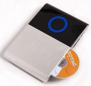 [Benendet] ZOTAC ZBOX AD03BR-PLUS-E (OHNE Betriebsystem, MIT BluRay  Laufwerk, MIT 2Gb Ram und 250GB HDD)