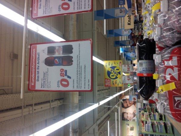 Pepsi / Schwipschwap  2 Liter bei real.-