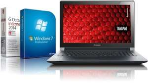 Lenovo Laptop - Intel 2x2.16 GHz - 8GB - 750GB - USB 3.0 - HDMI - Win7 Prof.- lautlose Kühlung - mattes Display