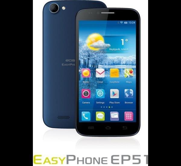 """easypix EasyPhone EP51 12,7cm (5"""") Smartphone"""