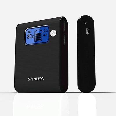 NINETEC 10.000mAh Power Bank Mobiler Akku für 19,99€ auf eBay!