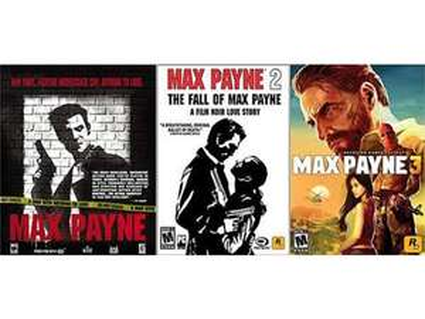Max Payne Triple Pack (Steam) für 4,43€ @Newegg