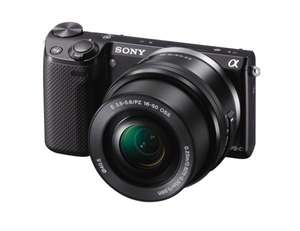 Sony Alpha NEX-5T Kit 16-50 mm (schwarz) für 344€ @Amazon.co.uk