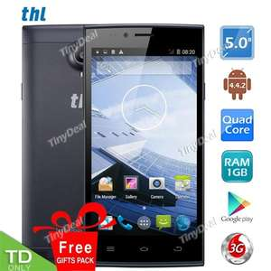 "80,21EuroPresell THL T6S 5.0"" JDI Screen MTK6582 Quad Core Android4.4.2 KitKat 3G Phone 8MP CAM 1GB RAM 8GB ROM P05-T6S"