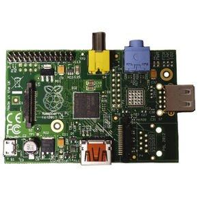 Raspberry Pi Model A, 255MB RAM