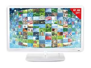 "Terris TV2441, 24"" Full HD LED TV mit Triple Tuner + DVD Player für 129,90"