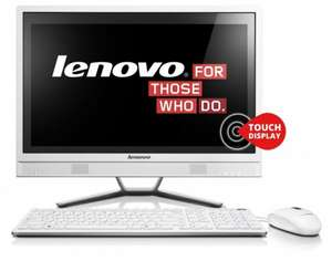 All in One PC AiO Lenovo IdeaCentre C460 (57321877) *schick*  Touch Full HD, i3, DVD Brenner fast 90,- € günstiger als idealo